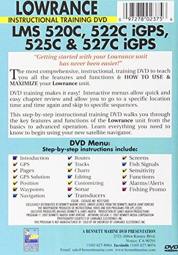 Lowrance LMS 520c,522c, Igps,525c and 527c Igps