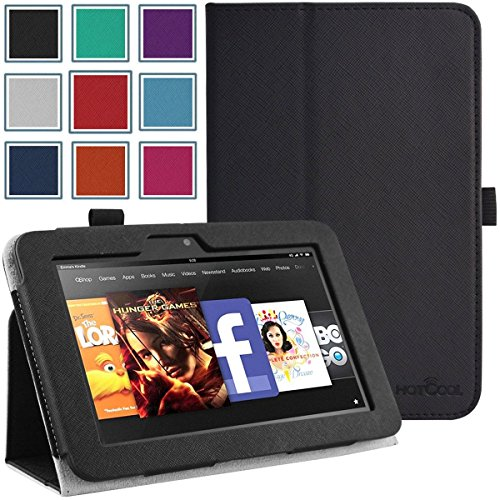 Kindle Fire HD 7 (2013 3rd Gen) Case - HOTCOOL Slim New PU