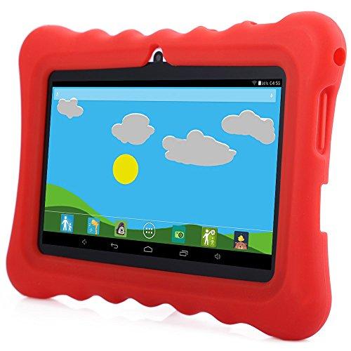 GBtiger L701 Kinder PC Tablet 7 Zoll (Android 4.4 Quad-Core 1,3 GHz, 512 MB RAM + 8GB ROM, HD-Auflösung von 1024 x 600, WiFi, GPS, Bluetooth)