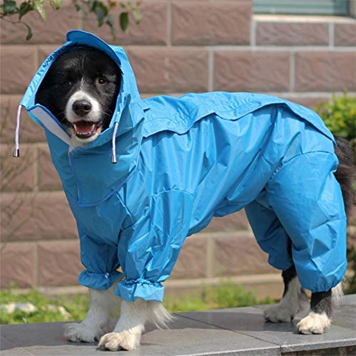 Dog Raincoats for Small Dogs - Small Dog Raincoat - Dog Raincoat Small - Large Dog Raincoat Clothes Waterproof Rain Jumpsuit for Big Medium Small Dogs Golden Retriever Outdoor.