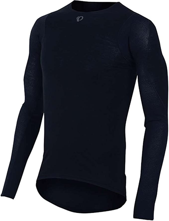 Details about  /Pearl Izumi Ride Womens Transfer Zip Neck Long Sleeve Base Layer Fast Drying