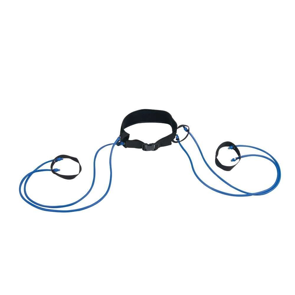 Power Systems Economy Power Jumper Training Kit with Standard Waist Belt, Up To 32 Pounds Resistance, Blue/Black (20152)