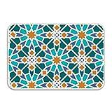 Renee Juliana Colors Islamic Mosaic Doormat Door Mat Rug Indoor/Outdoor/Floor Mat Rug for Home/Office/Bedroom 23.6''''(L) x 15.7''''(W)