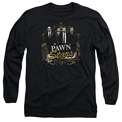 Pawn Stars Deal Unisex Adult Long-Sleeve T Shirt for Men and Women