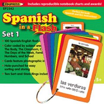 Teacher Creative Resource * Spanish in a flash set 1