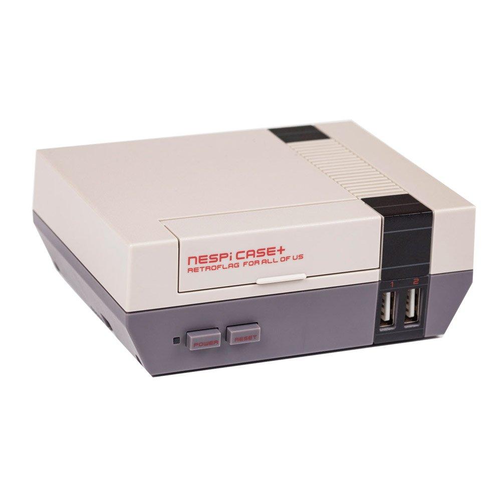 Optimal Shop NESPi Case+,Retroflag NESPi Case+ Plus Functional Power button with Safe Shutdown for Raspberry Pi 3 B+ (B Plus) by Optimal Shop (Image #2)