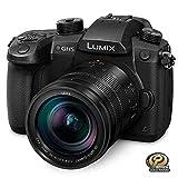 Panasonic Cámara mirrorless LUMIX GH5 4K con Lente Leica Vario-Elmarit + Adaptador Profesional de micrófono