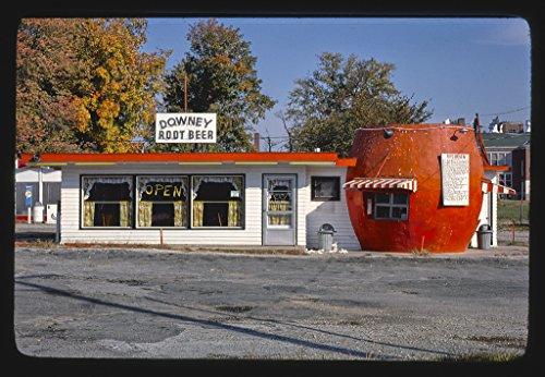 Vintography 8 x 12 Photo Rip's Drive-in, Morgantown, Indiana 1977 Margolies, John 98a (Drive Rip)