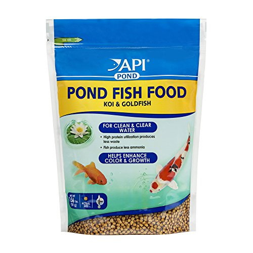 Growth Fish Food - API POND FISH FOOD Pond Fish Food 1.56-Pound Bag
