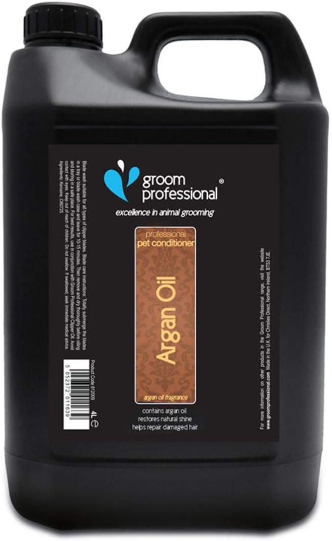 Groom Professional Novio Profesional Acondicionador de Aceite de argán, 4L