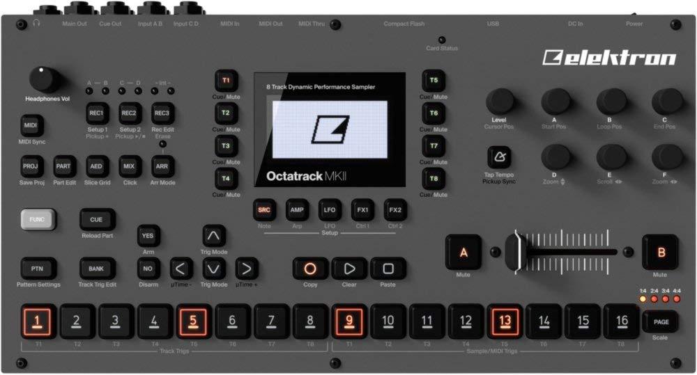 Elektron Octatrack MKII 8-track Performance Sampler (Renewed) by Elektron