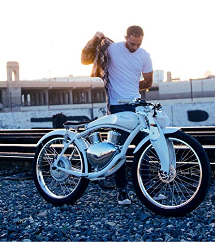 238f24a044a6 SHI PAO Munro Electric Motorcycle, 2 Wheels Classical Style Retro ...