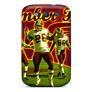 Shock Absorption Cell-phone Hard Covers For Samsung Galaxy S3 (Qsu17826BuFb) Allow Personal Design Colorful Washington Redskins Image