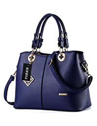 Tibes Ladies PU Leather Handbag with Shoulder Strap