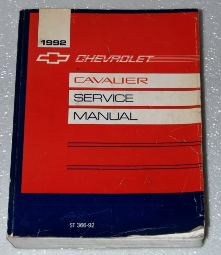 1992 Chevrolet Cavalier Service Manual