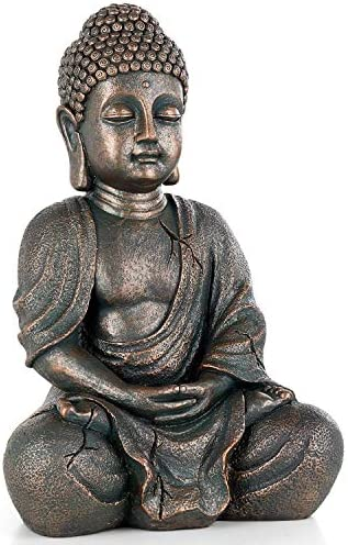 Meditating Seated Buddha Statue