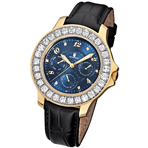 Astboerg Watch Germany Calender Royal Diamond Unisex AT406B by Astboerg