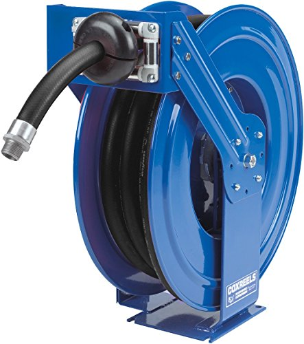 Coxreels SHFL-N-525 SHL-N-525-BXN Heavy Duty Spring Driven Fuel Hose Reel 3/4