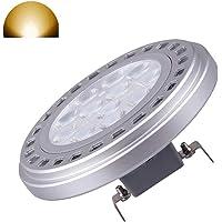 AR111 reflector foco luz bombilla 15 W G53