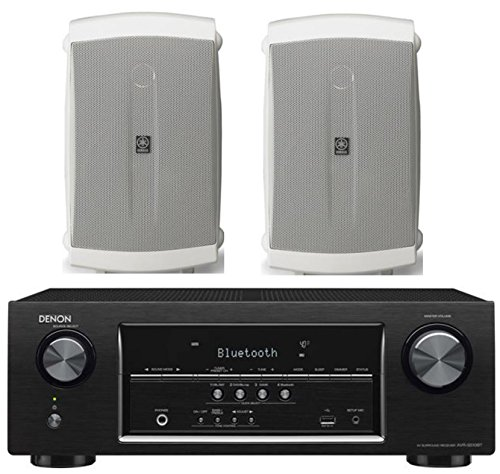 Denon-52-Channel-700-Watt-Full-4K-Ultra-HD-Bluetooth-AV-Home-Theater-Receiver-Yamaha-High-Performance-Natural-Surround-Sound-2-Way-120-watts-IndoorOutdoor-Weatherproof-Speaker-System-Pair