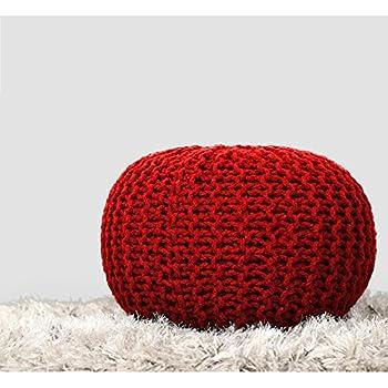 Amazon Com Keter 228474 Urban Knit Pouf Set Misty Blue