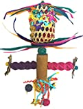 Fetch-It Pets Foraging Pocket Play Perch Bird Toy
