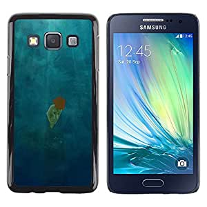 LECELL--Funda protectora / Cubierta / Piel For Samsung Galaxy A3 SM-A300 -- Scattered Light Diving Deep Girl --
