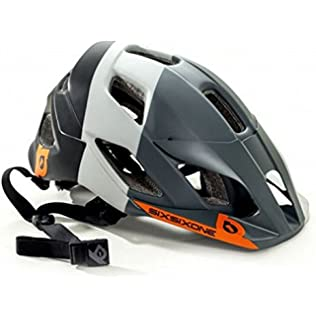 661 SixSixOne Evo Am Tres MTB Bicycle Helmet w/MIPS - GRAY - (CLOSEOUT