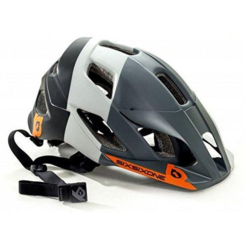 661 SixSixOne Evo Am Tres MTB Bicycle Helmet w/MIPS - GRAY - Medium/Large (M/L) ()