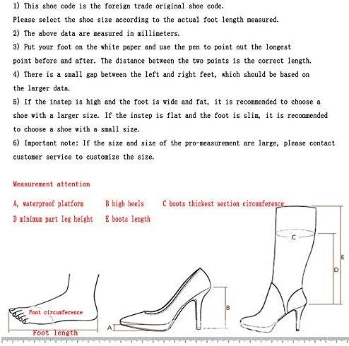NA Gel Nail Cuissardes,Bottes Pointues À Talons Hauts,Bottes Mode pour Femmes Peluche Grande Taille,44