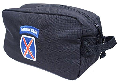 10th Mountain Division Shaving Kit Toiletry Bag Navy