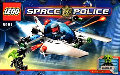 Lego Instruction Booklet 5981 Space Police Instruction Book Only