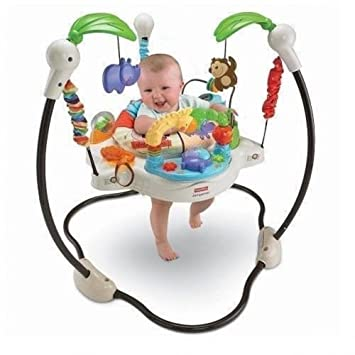 Amazon Com Baby Activity Gym Exerciser Floor Jumper Lights Music