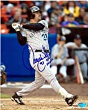 Larry Walker autographed 8x10 Photo (Colorado Rockies) inscribed 97 NL MVP AW Certificate of Authenticity