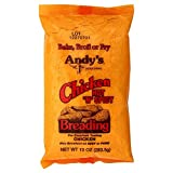 Andys Andy's Breading Chicken, Hot N Spicy 10 OZ (Pack of 24)