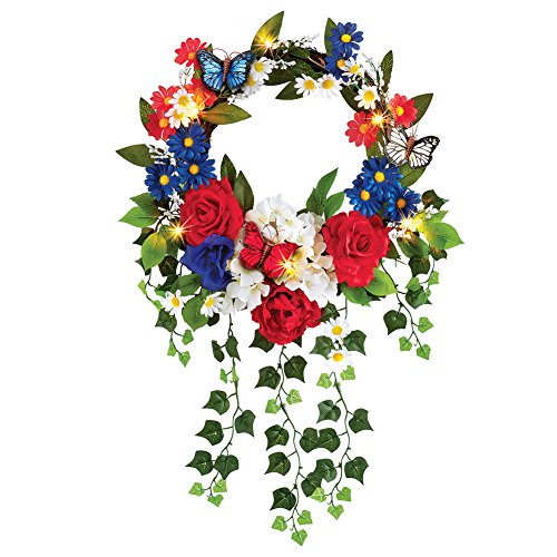 60 Outdoor Lighted Wreath in US - 6