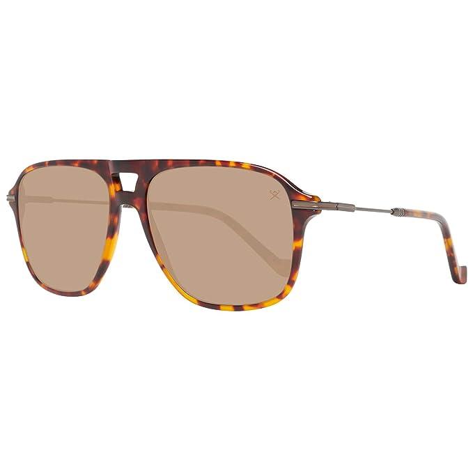 Hackett London HSB86512756 Gafas de sol, Marrón, 56 para ...
