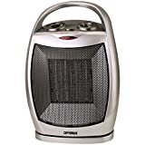 Optimus H-7247 Portable Oscillating Ceramic Heater with Thermostat Ceramic Ceramic Heaters Heater Optimus Optimus Enterprise Inc Oscillating Portable Thermostat with
