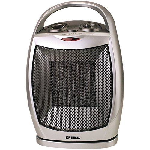 (Optimus H-7247 Portable Oscillating Ceramic Heater with Thermostat)