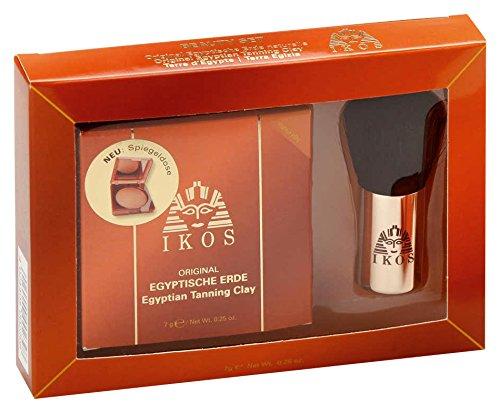 Ikos Beauty-Set 7Gramm ERDE naturelle mit Kabuki Pinsel, 7 g GSK6