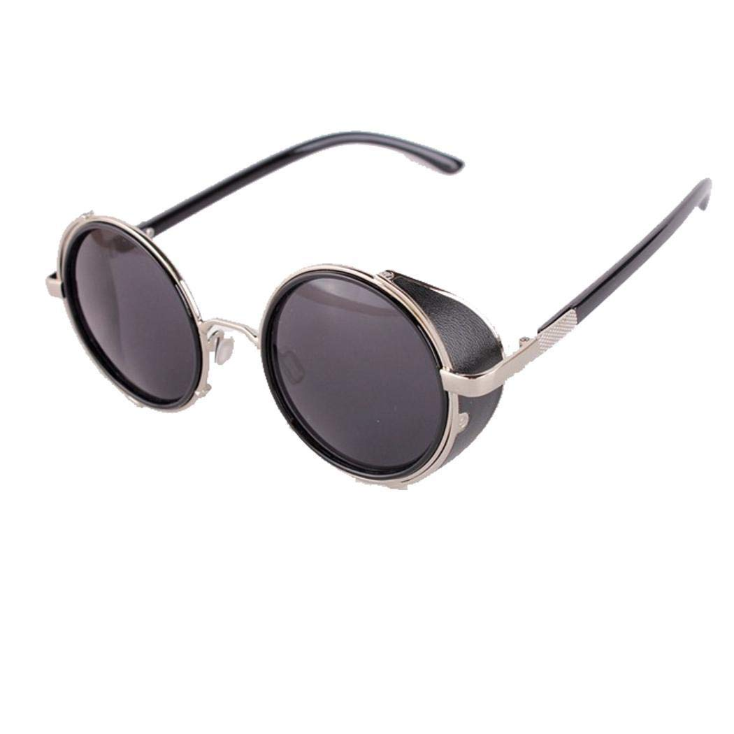 Occhiali da sole con lenti a colori Occhiali da sole Teaio Occhiali da sole stile retr/ò da uomo