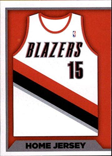 - 2015-16 Panini Stickers #309 Portland Trail Blazers Home Jersey