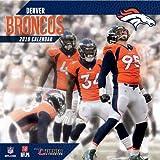 2019 Denver Broncos NFL Team Wall Calendar