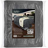 Product review for For Pro 310026 Forpro Premium Table Skirt, Cool Grey