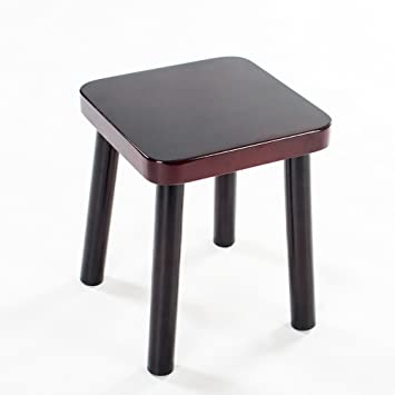Reinforced Oak Solid Wood Home Stool Small Bench Stool Manual Small Wooden Bench Stool Children Furniture