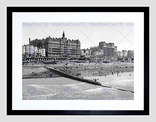 BRIGHTON FROM THE PIER ENGLAND VINTAGE O - Vintage Black Pier Mount Shopping Results