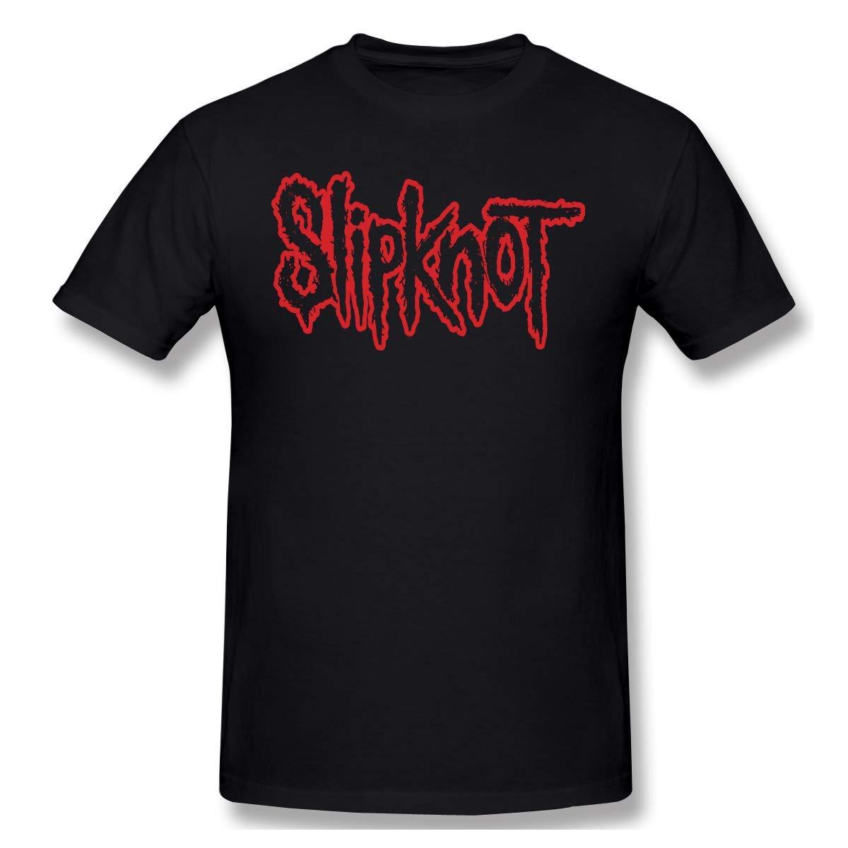 Particular Slipknot Logo Black Shirts