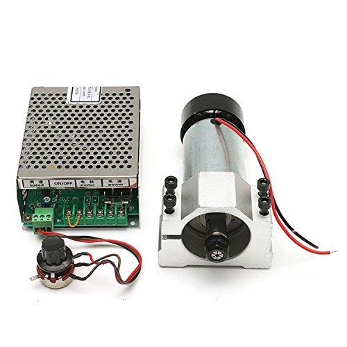ChaRLes 300W Spindel Motor mit AC 110-220V Netzteil-Regler und 52mm-Klemm Satz