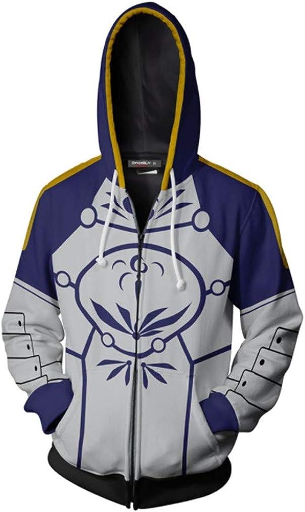 starfun Unisex Fate Stay Night Grand Order Emiya Shirou Saber Hoodies Sweatshirt Archer Jacket Coat Halloween Costume