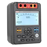 CTI UT512 Digital Insulation Resistance Tester Meter Megohmmeter Low Ohm Ohmmeter Voltmeter Auto Range 2500v Usb Interface ohm
